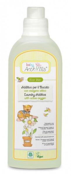 Aditiv Eco Bio pentru rufe cu oxigen activ, Baby Anthyllis 1000ml