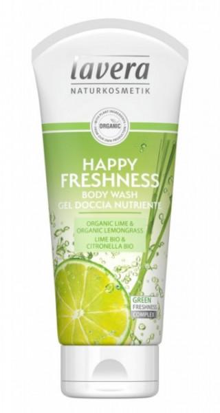 Gel de dus Happy Freshness cu lime si citronella, 200ml - LAVERA