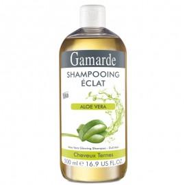 Sampon natural stralucire cu aloe vera si proteine grau - Gamarde