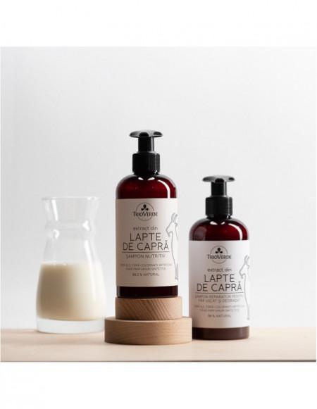 Șampon nutritiv cu extract din Lapte de Capră 250ml - Trio Verde