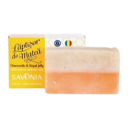 Sapun Natural Musetel si Laptisor de Matca - Savonia