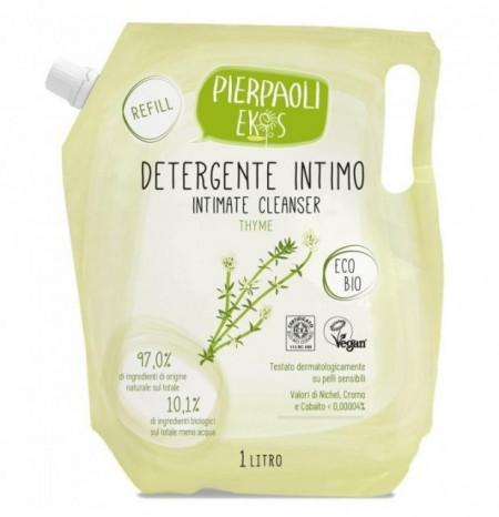 Rezerva Gel pentru igiena intima cu extract de cimbru ECO BIO Pierpaoli Ekos  1000ml