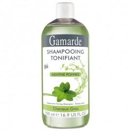 Sampon natural tonifiant pentru par gras cu menta si aloe vera - Gamarde