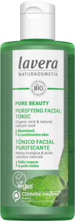 Tonic purifiant cu menta si acid salicilic natural, 200ml - LAVERA