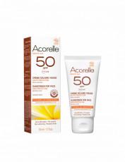 Crema bio protectie solara fata SPF 50 - 50ml