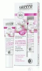 Crema de ochi iluminatoare antirid & anticearcan cu extract de perle si cafeina - LAVERA