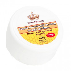 Crema naturala hidratanta de corp cu miere, propolis, ceara de albine - Apidava