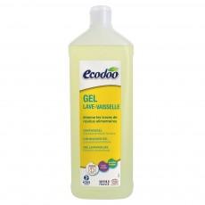 Detergent bio lichid pentru masina de spalat vase 1L - Ecodoo