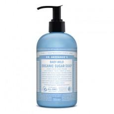Sapun lichid Sugar Soap Inodor, pentru bebelusi si piele sensibila – 355 ml/710ml - Dr Bronner
