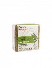 Sapun original de Marsilia verde 100g _ Douce Nature