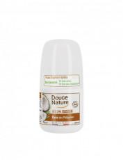 Deo roll-on calmant cu cocos - piele sensibila, epilata 50ml - Douce Nature