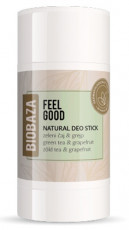 Deodorant stick natural Feel Good, ceai verde si grapefruit - BIOBAZA