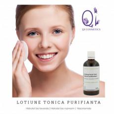 Lotiune tonica naturala (ten mixt/gras) – Purifying Facial Toner