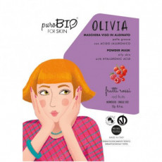 Masca peel-off ten gras OLIVIA fructe rosii, 13gr - PuroBio