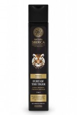 Sampon si gel de dus pentru barbati Fury of the Tiger, 250 ml - Natura Siberica