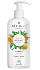 Sapun lichid cu extract din frunze de portocal Superleaves, 473 ml - ATTITUDE
