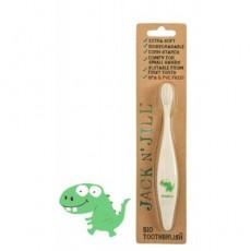 Periuta de dinti ECO pentru bebe si copii, Dino - Jack n' Jill
