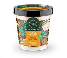 Crema de corp delicioasa Caramel Cappuccino, 450 ml - Organic Shop Body Desserts