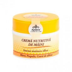 Crema naturala maini Royal Honey cu miere, ceara albine, propolis - Apidava
