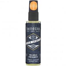 Deodorant spray bio pentru barbati, 75 ml - Benecos