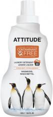 Detergent lichid ECO pentru rufe Citrus Zest, 35 spalari - ATTITUDE