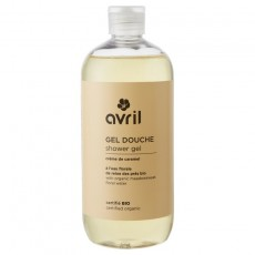 Gel de dus bio cu caramel, 500ml - Avril