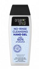 Gel igienizant pentru maini cu ulei organic de tea tree, 100ml - Organic Shop