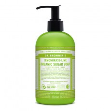 Sapun lichid Sugar Soap LEMONGRASS LIME – 355 ml/710ml - Dr. Bronner