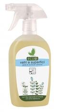 Solutie ECO pentru curatat geamuri si suprafete cu ulei de lamaie ECOSI 500ml