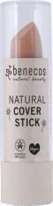 Stick corector bio pentru cearcane si imperfectiuni, Vanilla - Benecos