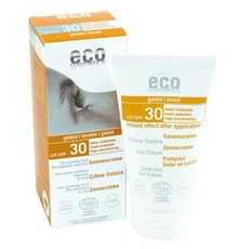 Crema Bio protectie solara FPS 30, nuantata - Eco Cosmetics