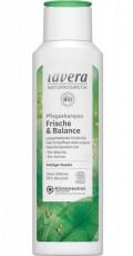 Sampon par gras cu matcha si quinoa Freshness & Balance, 250ml - LAVERA