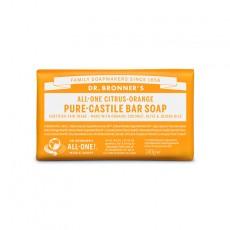 Sapun solid de Castilia, aroma Citrice 140g - Dr Bronner