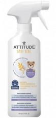 Solutie hipoalergenica de reimprospatare si eliminare a mirosurilor (covoare si textile), fara parfum - ATTITUDE Sensitive Skin