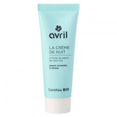 Crema de noapte ten normal, mixt, 50ml - Avril