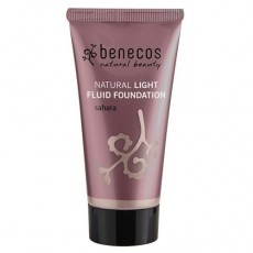 benecos Natural Light Fluid Foundation Sahara