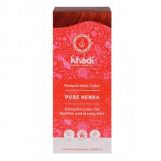Henna Pura (Rosu) – vopsea de par naturala - Khadi