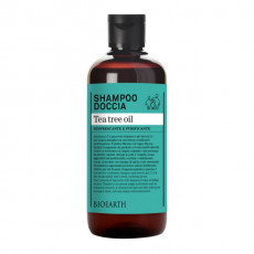 Sampon & gel de dus cu arbore de ceai, 500ml - Bioearth