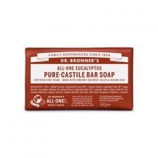 Sapun solid de Castilia, aroma Eucalipt 140g - Dr Bronner