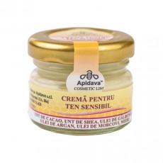 Crema pentru ten sensibil cu ulei argan - Apidava