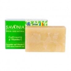 Sapun Natural Castravete si Vitamina C - Savonia