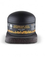 Sapun negru detoxifiant cu carbon activ pentru curatarea porilor in profunzime, 120 ml - Natura Siberica
