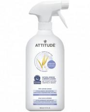 Sensitive Skin Care Solutie de curatat geamuri si oglinzi hipoalergena, 800ml - ATTITUDE