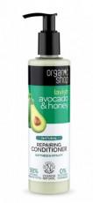Balsam de par bio reparator Avocado & Miere, 280 ml - Organic Shop