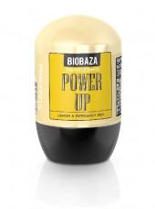 Deodorant natural pentru barbati POWER UP (lamaie si bergamot) - BIOBAZA