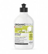 Detergent ecologic pentru vase Aloe Vera & ulei de masline, 500ml - Organic People
