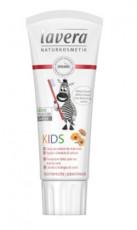 Pasta de dinti bio pentru copii cu galbenele si calciu, 75ml - LAVERA