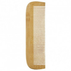 Pieptene din lemn cu dinti desi - Avril