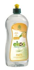 Solutie ECO pentru spalat vase/biberoane cu aroma de portocale Ekos 750ml