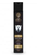 Gel de dus revigorant pentru barbati cu plante siberiene White Bear, 250 ml - Natura Siberica